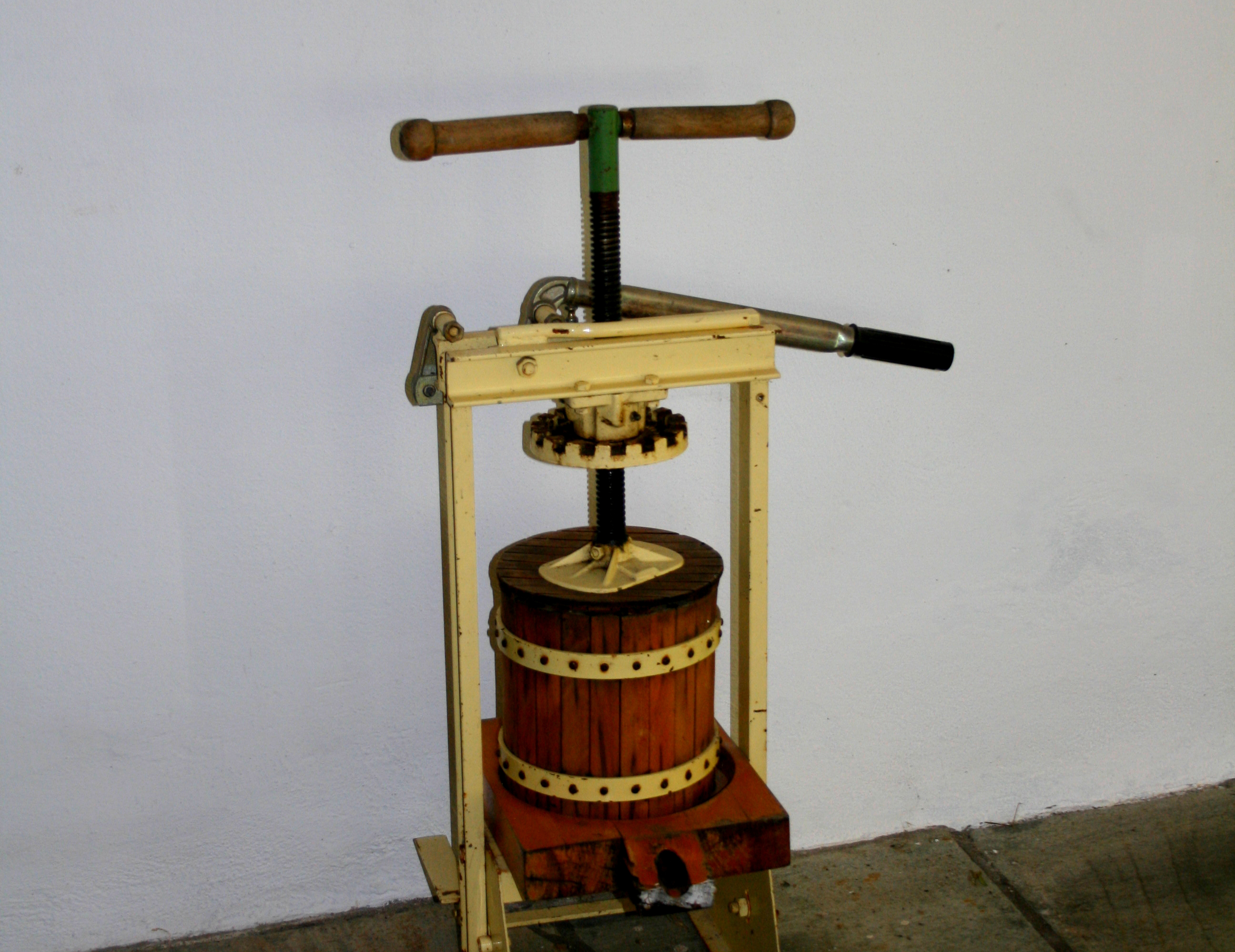 Olive press Pelion Pilion Greek
